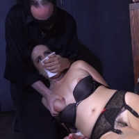 Alex chance takes her big tits out of their bra cage - 3 part 5