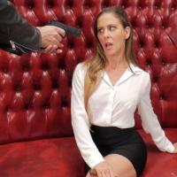 Cherie DeVille Bondage Blowjob Slave